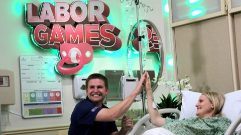 Labor Games: vinci in sala parto