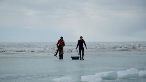La pesca del oro: bajo el hielo