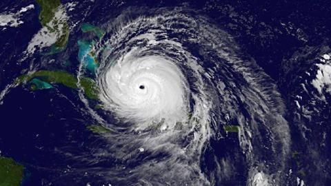 Dentro del huracán Harvey e Irma