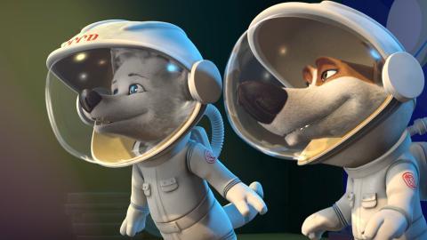 Space Dogs 2: Avventura Sulla Luna